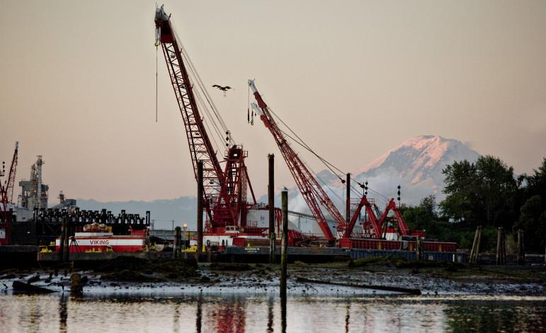 Seattle' Duwamish River