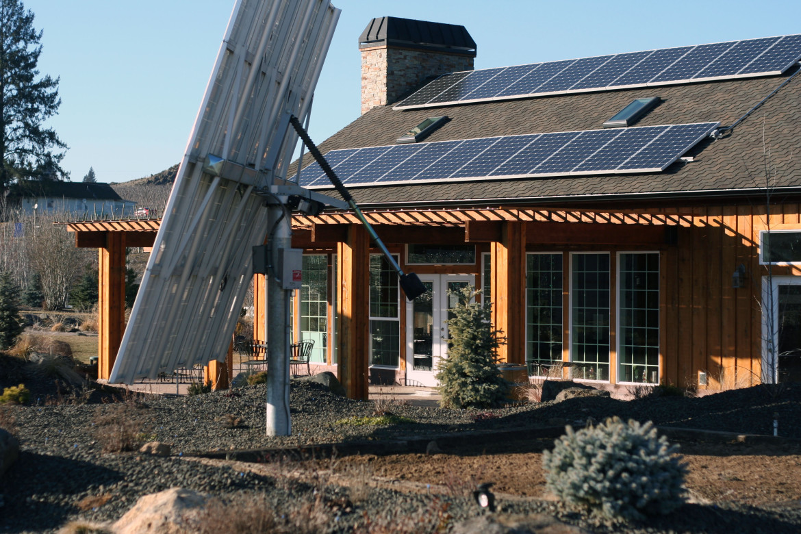 Solar Panels at Naches Heights