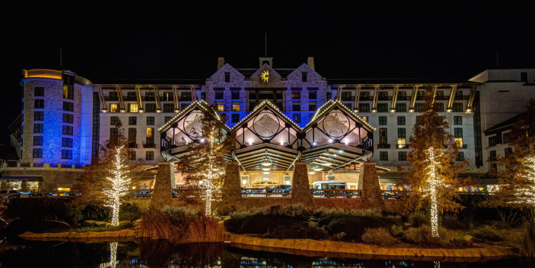 The Gaylord Texan Resort, where the alleged assault is said to have happened.