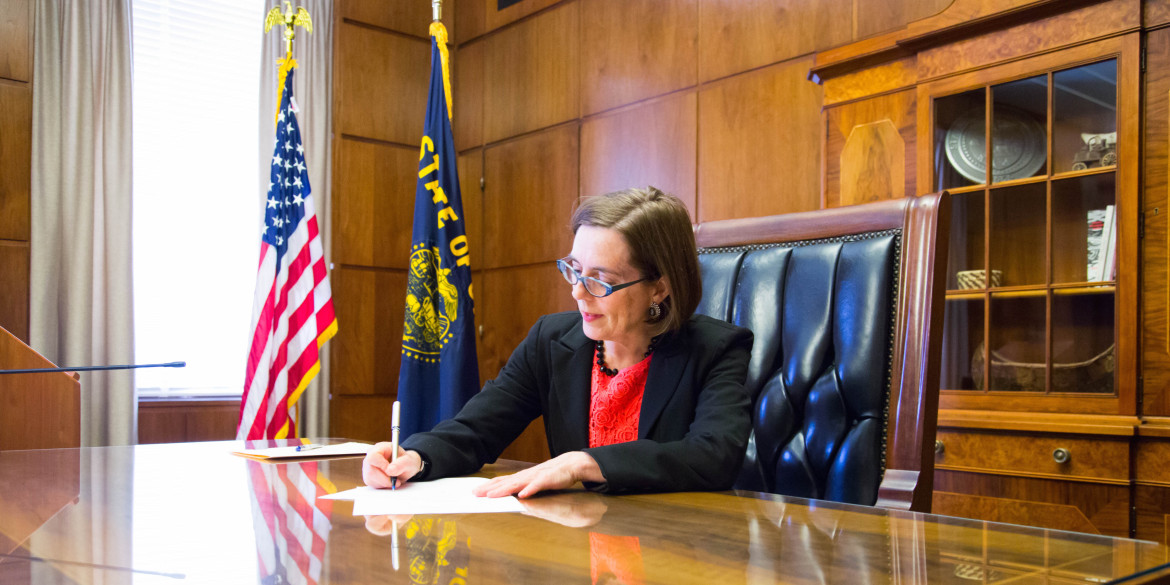 Gov. Kate Brown