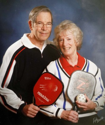 Madeleine and Larry Fraley