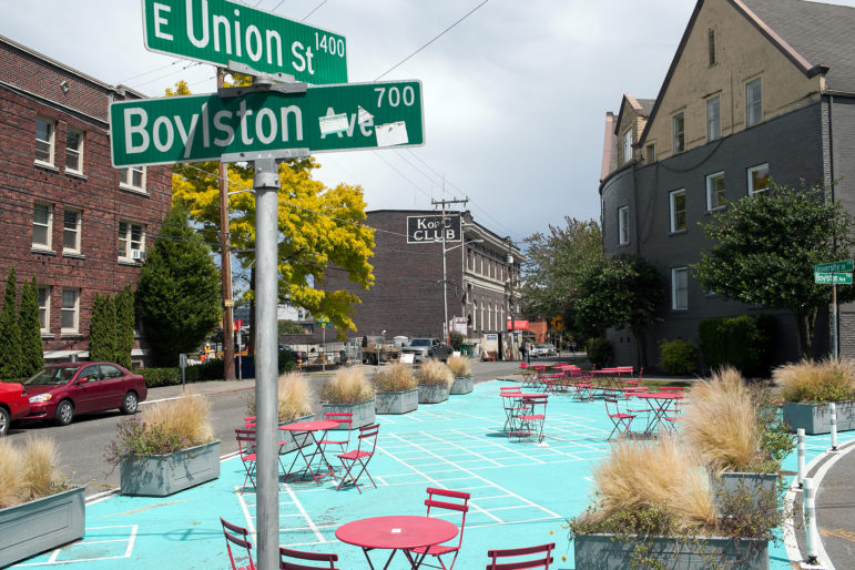 Park at East Union Street and Boylston in Capitol Hill
