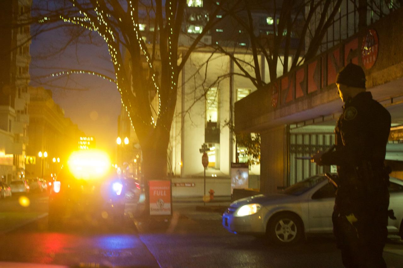 Riding along with the Portland Police Bureau