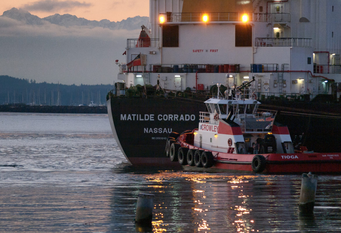 House committee votes on extending tug escorts to oil barges
