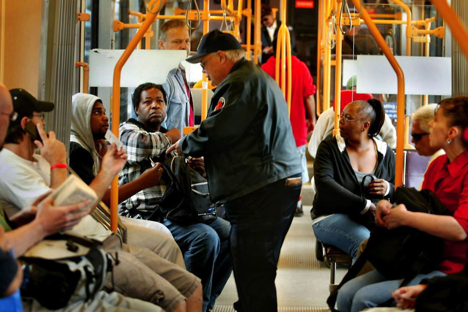 Black riders face stiffest transit penalty at rates more than six times that of whites