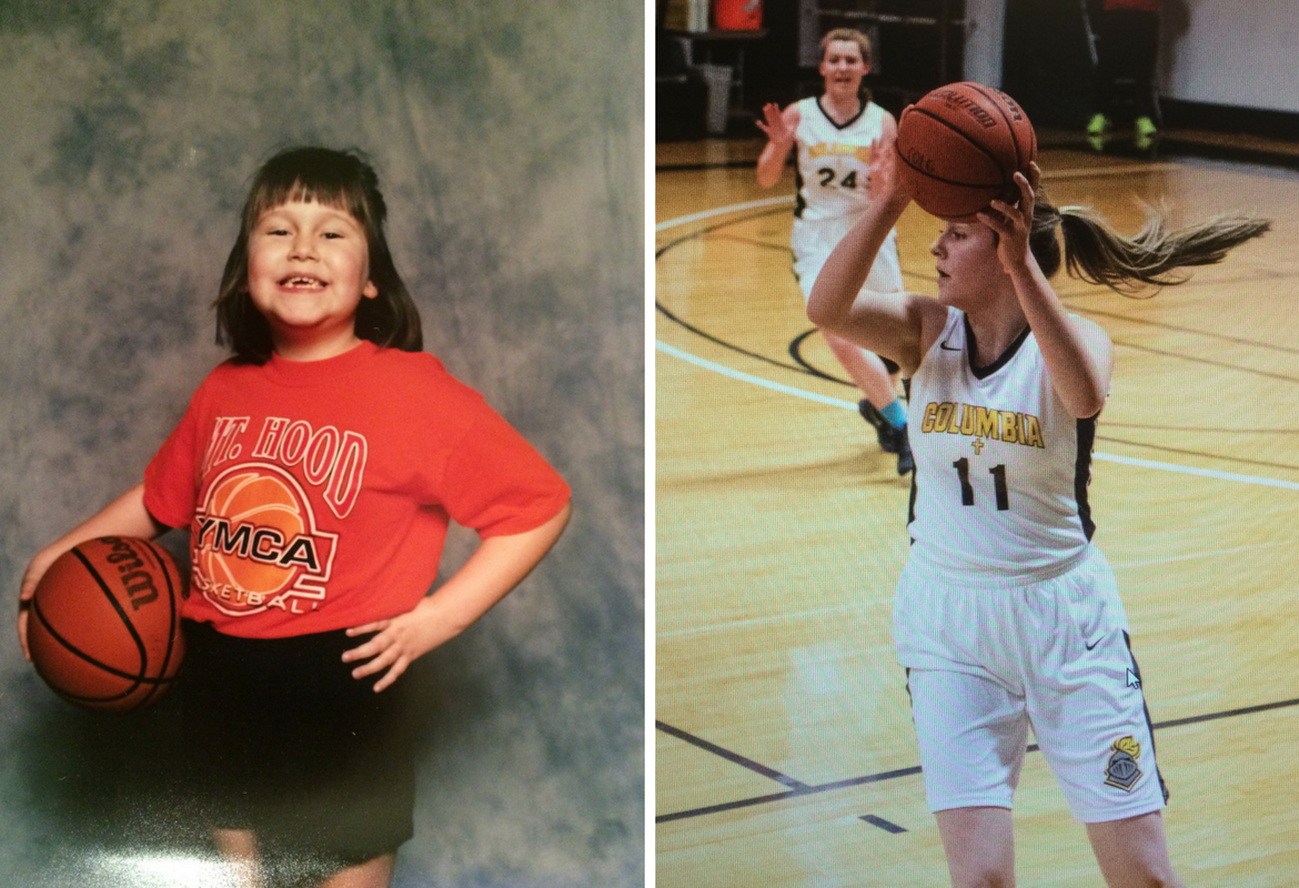A contested rebound. A fall onto the basketball court. And Sami Howard's life changed forever