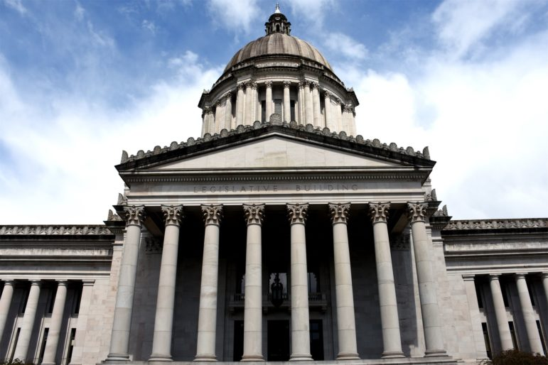 Washington State Legislature in Olympia, WA