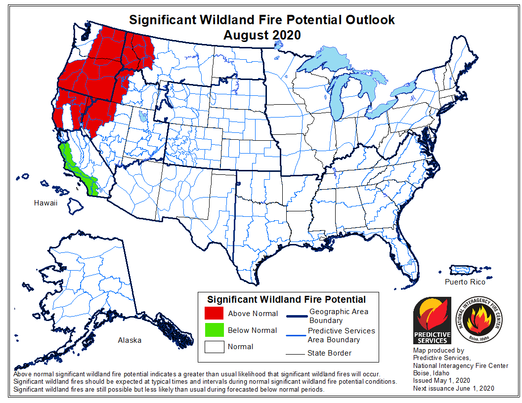 As COVID-19 upends wildland firefighting, Pacific Northwest forests poised for conflagration