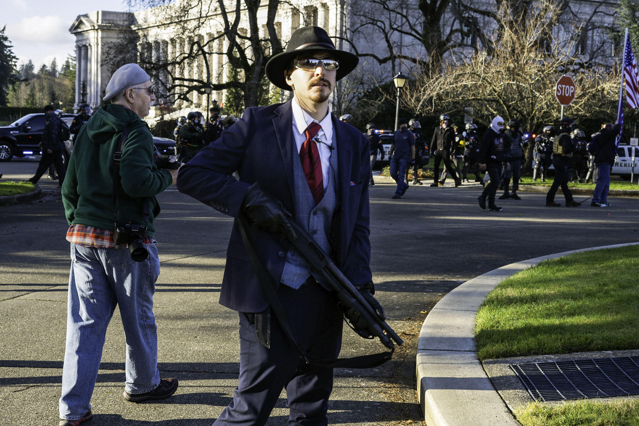 After a turbulent year, Washington state poised to ban guns at protests, Capitol grounds